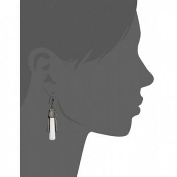 robert morris hematite silver earrings