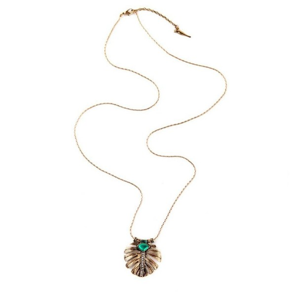 Women's Charm Vintage Necklace Long Pendant Jewelry for Teen Girls 2018 Fashion Jewelry - 101A - CT1840RQEQ0