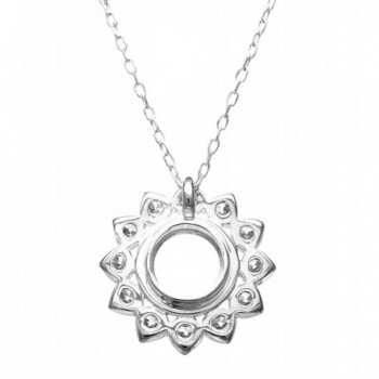 Kameleon Jewelry KP038 Sunflower Pendant in Women's Pendants