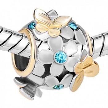 JewelryHouse Butterfly Imitation Birthday Bracelet