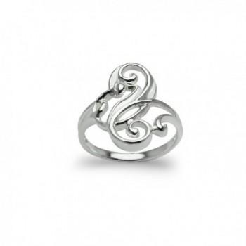 Sterling Filigree Fashion Comfort Jewelry