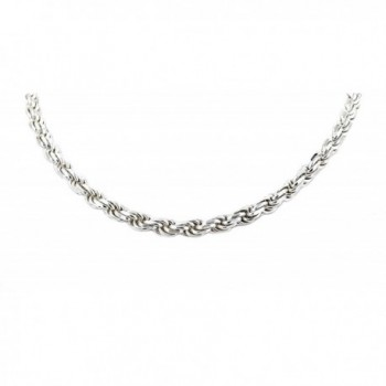 """Real Solid 925 Sterling Silver Diamond Cut Rope Chain 2.0mm 16"""" to 30"""" (20) - C512GU4CMZ7"""