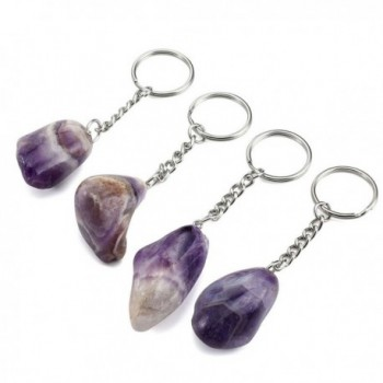 QGEM Amethyst Polished Irregular Gemstone in Women's Pendants