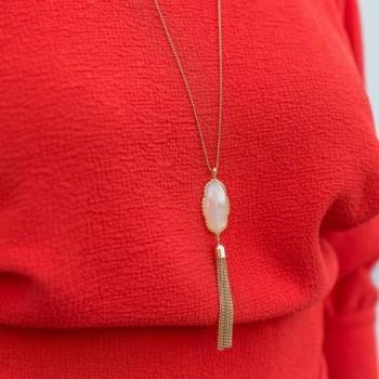 Necklace Crystal Pendant Candace Benevolence
