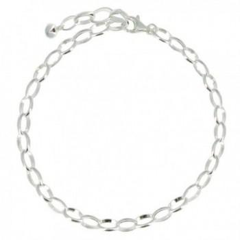 Les Poulettes Jewels - Charms Bracelet 925 Sterling Silver - 8.5 Inch - CR115UDGNGJ