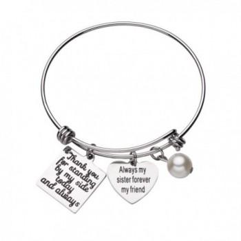 CJ Wedding Bridesmaid Bracelet Jewelry - C2182WXAY8H