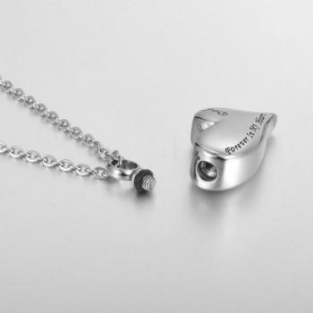 Cremation Irregular Memorial Necklace Keepsake
