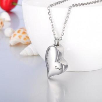 Cremation Irregular Memorial Necklace Keepsake in Women's Pendants