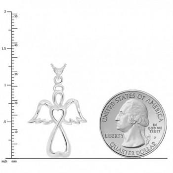 Sterling Silver Guardian Pendant Necklace in Women's Pendants