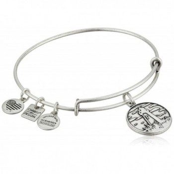 Alex and Ani Charity By Design Leukemia and Lymphoma Society Bangle Bracelet - Rafaelian Silver - CJ11JV20SWF