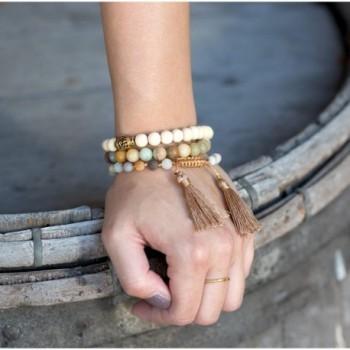 DennyBlaine Co Amazonite Adjustable Bracelet
