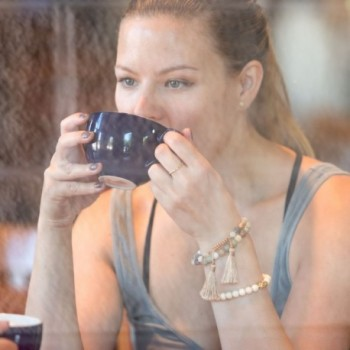 DennyBlaine Co Amazonite Adjustable Bracelet in Women's Stretch Bracelets
