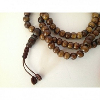Tibetan Beads Meditation Counters BM 25 in Women's Strand Necklaces