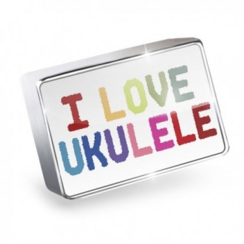 Floating Charm I Love Ukulele Fits Glass Lockets- Neonblond - I Love Ukulele-Colorful - CK11Q3ULRJL