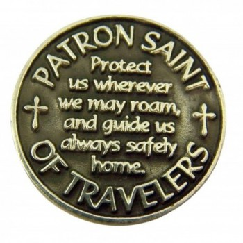 Silver Patron Travelers Christopher Devotional in Women's Charms & Charm Bracelets