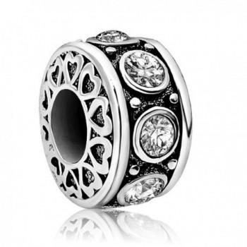 JMQJewelry Heart Love Birthday Jan-Dec Birthstone Charms Beads For Bracelets - C0186CQRR52