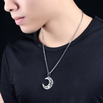 Moon Lover Pendant Necklace Couples in Women's Pendants