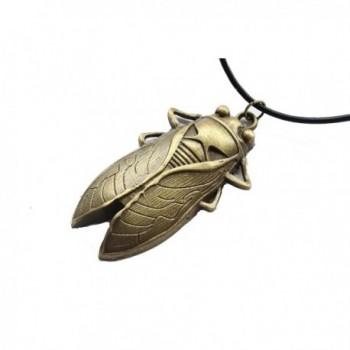Cicada Necklace Grasshopper Steampunk Pendant