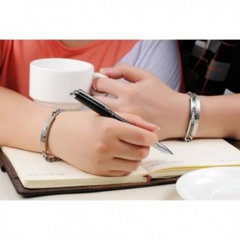 KasLin Stainless Golden Zirconia Bracelet in Women's Link Bracelets