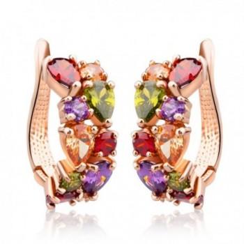 Swarovski Crystal Zirconia Multi Color Earrings - CM11TVMJX9T