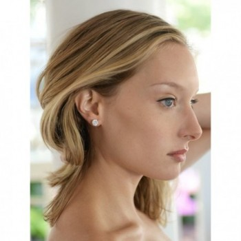 Mariell Plated Carat Clip Earrings
