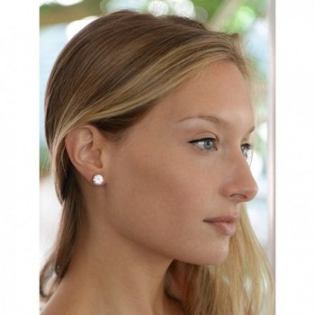 Mariell Plated Carat Clip Earrings in Women's Clip-Ons Earrings