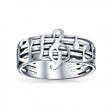Bling Jewelry Treble Stelring Silver