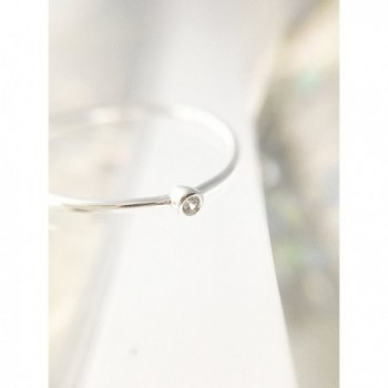 HONEYCAT Solitaire Minimalist Delicate Jewelry in Women's Stacking Rings