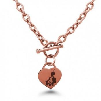 Stainless Steel 2nd Gen Chikorita Bayleef Meganium Pokémon Heart Charm Bracelet & Necklace - CM12N15BKK8