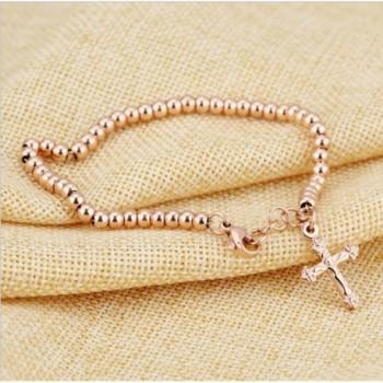 Stainless Steel Bracelet Polished Valentines in Women's Link Bracelets
