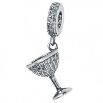 Sterling Silver Zirconia European Bracelets