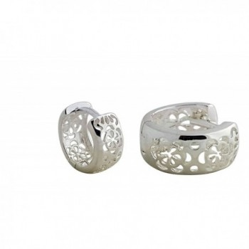 SOLID STERLING SILVER GLOSSY HP2