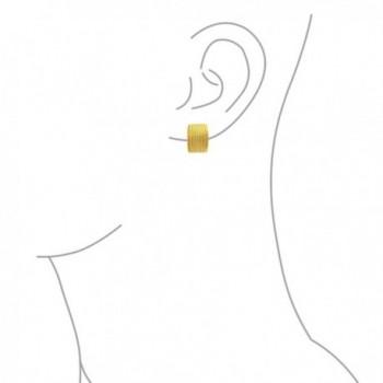 Bling Jewelry Plated Twisted Earrings in Women's Clip-Ons Earrings