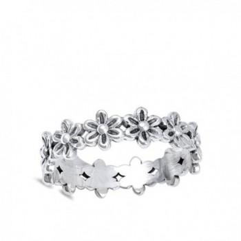 Plumeria Eternity Sterling Silver RNG17079 10