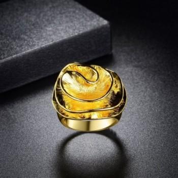 Mytys Flower Fashion Jewelry Womens in Women's Statement Rings
