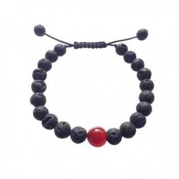 Tibetan Mala Lava Stone Wrist Mala Bracelet for Meditation - CB12DREAUXD