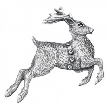 Danforth - Reindeer Pewter Brooch Pin - CS11C99566P