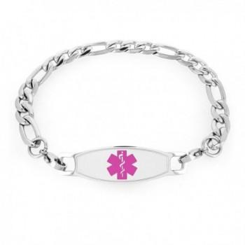 316l St Steel Medical Id Bracelet