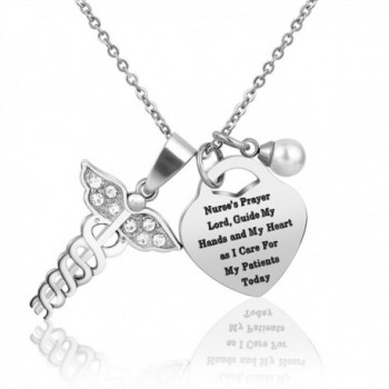 Nurse Necklace Gifts Christmas Graduation - C8188YCKOSK