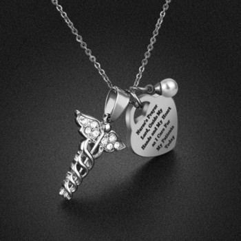 Nurse Necklace Gifts Christmas Graduation in Women's Pendants