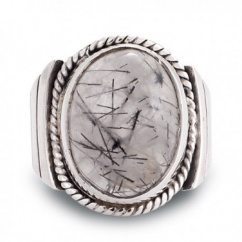 Sterling Silver Natural Rutile Gemstone