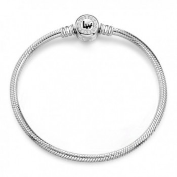 Long Way Sterling Bracelets 7 5inches - Sliver 7.5inches - CY186DLZXM6