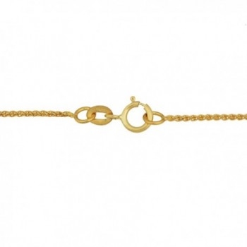 Yellow Gold Filled Wheat Chain