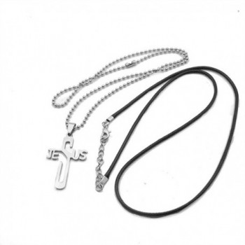 LUCBUY Sterling Diamond Necklace Stainless