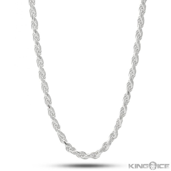 Nuni Jewelry Sterling Silver 1.6mm Rope Chain (16- 18- 20- 22- 24- 30 or 36 inch) - CW128XOW6OT
