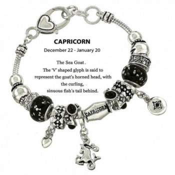 DianaL Boutique Capricorn Horoscope Bracelet