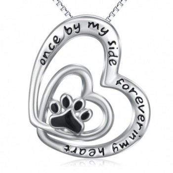 Infinity Sterling Necklace Engraved necklace - CY187I2I89D