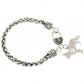 Shepherd Gift Silhouette Silver Tone Jewelry in Women's Charms & Charm Bracelets