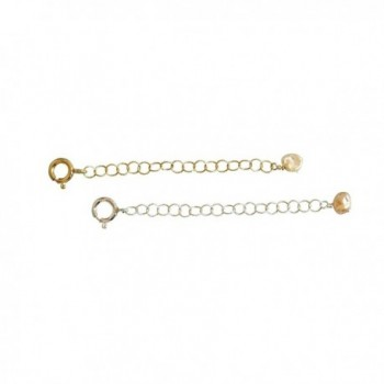 "2"" of Extender Chain- Removable and Adjustable Sterling Silver or 14k Gold Filled - Extra Links - CK11K4YZHR5"