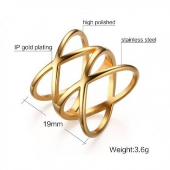 Stainless Steel Plated Double Statement